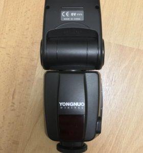 Вспышка YongNuo YN-468-II TTL Speedlite for Canon