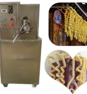 Экструдер для кукурузных трубочек и мороженого