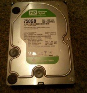 Жесткий диск 750 Gb