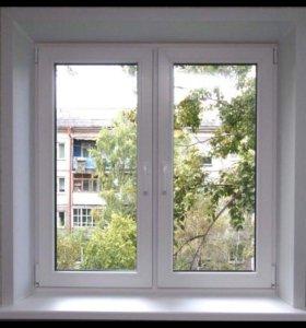 Металлопластиковые окна, двери, балконы под заказ.