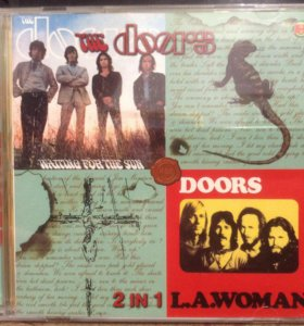 """The doors """"Waiting For The Sun"""", """"L.A.Woma CD диск"""