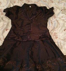 Комплект юбка костюм