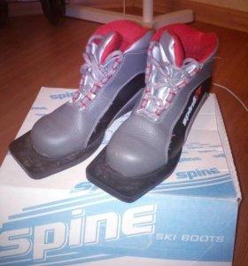 Ботинки лыжные детские 32 р-р