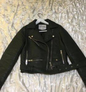 Куртка из кожзаменителя PULL&BEAR