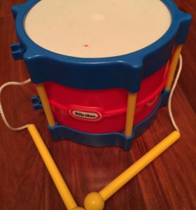 Барабан детский 2+