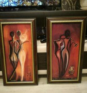 Картины мужское и женское начало