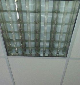 Светильники под потолок Армстронг.