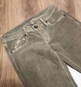 Велюровые брюки лёгкий клёш