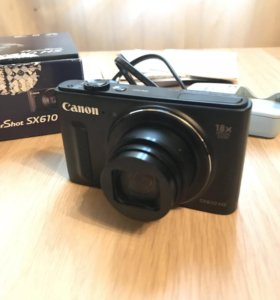 Фотоаппарат Canon Cyber Shot SX610HS