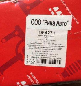 Диск тормозной задний TRW DF 4271
