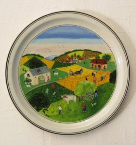 Настенная тарелка Villeroy & Boch Германия