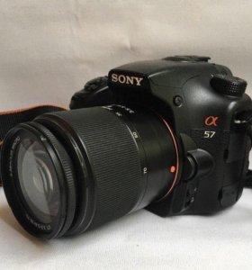 Sony Alpha A57 + 18-70