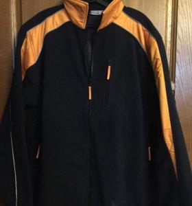 Спортивная куртка немецкая флис