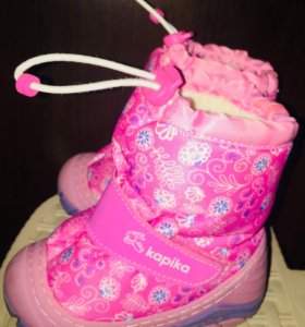 Kapika зимние ботиночки для девочки)