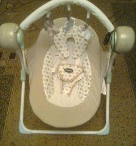 качели-шезлонг для малышей Babyton