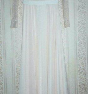 Платье в пол (свадебное,вечернее,на выпускной)