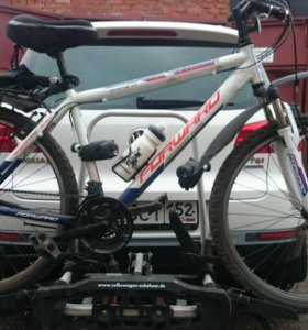 Крепление для 2-х велосипедов на фаркоп