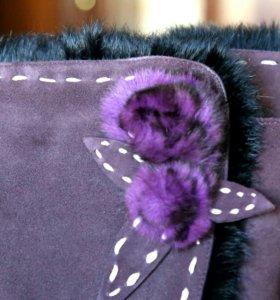 Сапоги зимние 39 размер