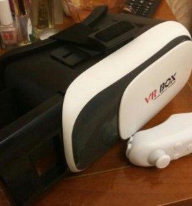 VR BOX 2 + джойстик для смартфона (500 р. за всё)