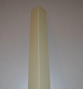 Планка внешнего угла для фасадов и кровли