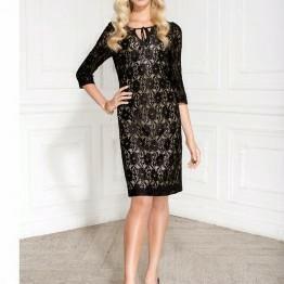 Платье гипюр на атласном подкладе новое размер 50