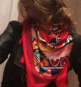Палантин Hermes платок, шарф