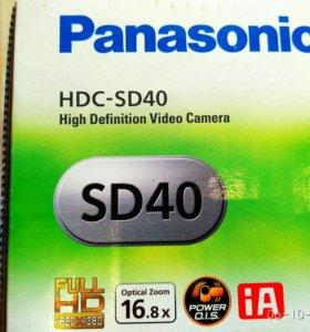 Видеокамера Panasonik HDC-SD40