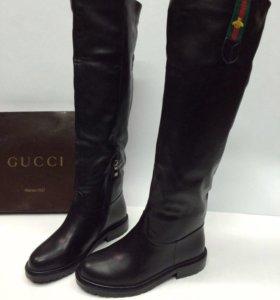 Зимние сапоги Gucci 36-40 p.
