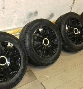 Продам зимние нешипованные колеса r14