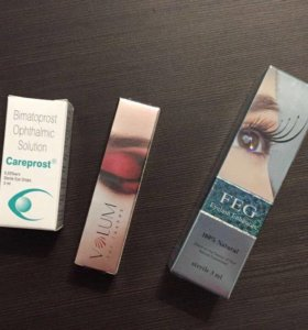 Карепрост (careprost), Xlash, Volum, FEG