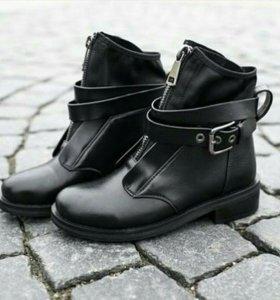 Ботинки новые (зима)