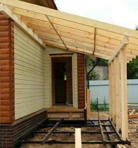 Отделка-ремонт внутри дома