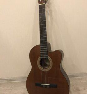 Гитара Samick, 6 струн, с подключением