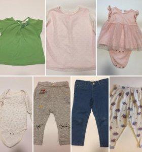 Zara Baby girl Gap одежда 18-24