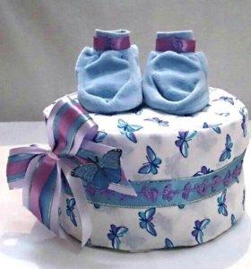 Торты из памперсов на заказ