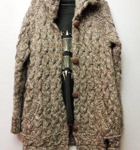 пальто / кардиган вязаное