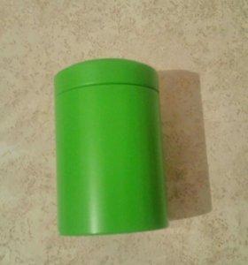 Металлическая баночка для чая