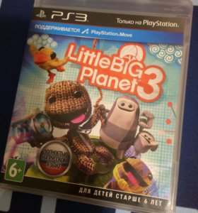 Little big planet 3 и другие на PS3