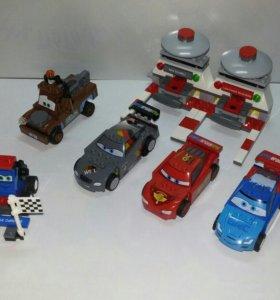 Лего Тачки (оригинал) 9485 и 8201
