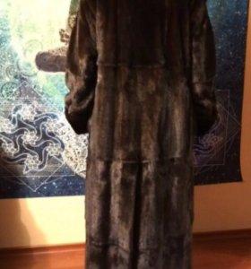 Итальянская норковая шуба Saga mink HB furs