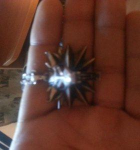 Медальон ведьмака школы волка из Witcher 3,серебро
