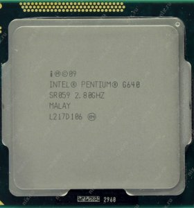 Intel Pentium G640 (2800MHz, LGA1155, L3 3072Kb)