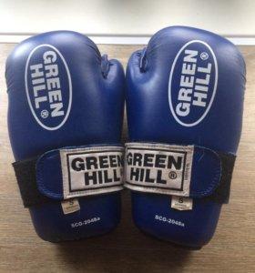 Перчатки для единоборств Green Hill
