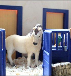 Лошади Schleich (Шляйх). Фьордские и Хафлингер