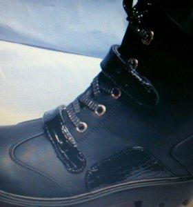 Новые осенние ботинки размеры 36,38,40,41