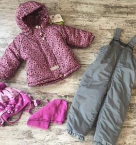 Зимний костюм (мех) и новый