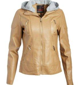 Куртка из искуственной кожи новая