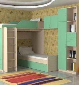 Детская мебель , кроватка, кровать чердак