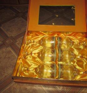 фужеры сувенирные в подарочной упаковке