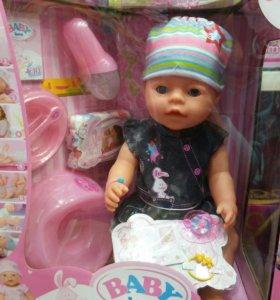 Интерактивая Кукла пупс малыш